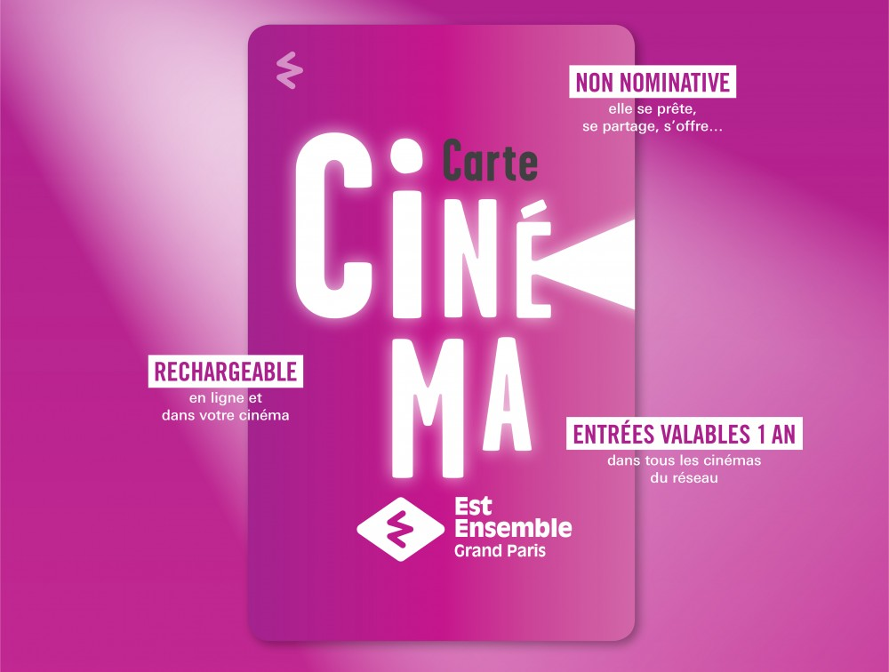 carte cinema Est Ensemble